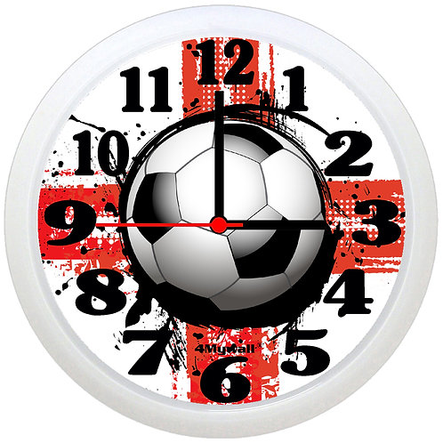 England Football Wall Clock