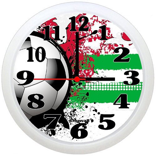 Wales Football Wall Clock