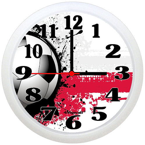 Poland Football Wall Clock