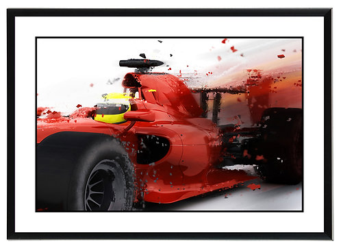 F1 Close Up Wall Art