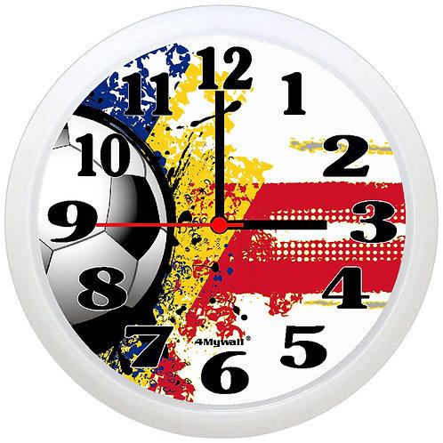Romania Football Wall Clock