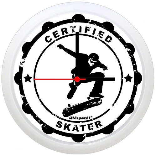 Certified Skater Wall Clock