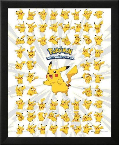 Pikachu Wall Art