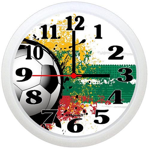 Lithuania Football Wall Clock