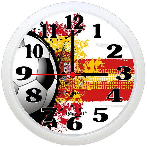 Spain Football Wall Clock