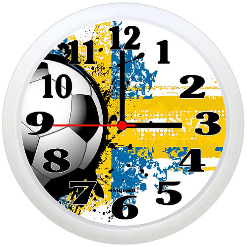 Sweden Football Wall Clock