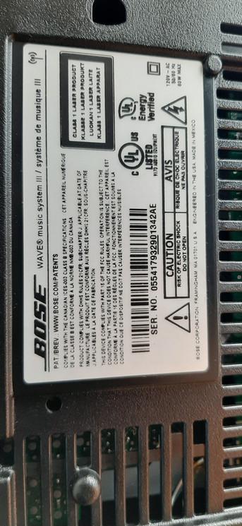 Hayward CA BOSE Wave Music System repair near me 510-684-7207