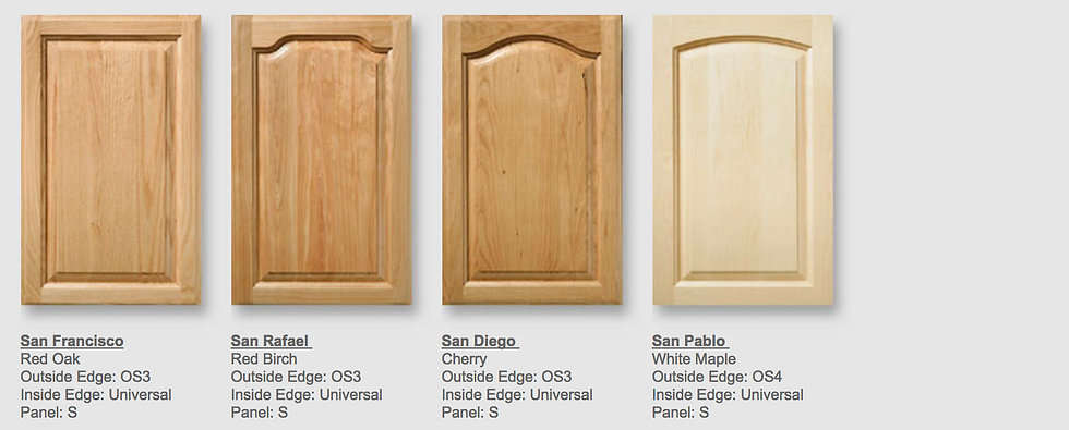 Kitchen Cabinets doors makers remodeling San Ramon, Rossmoor Walnut Creek CA