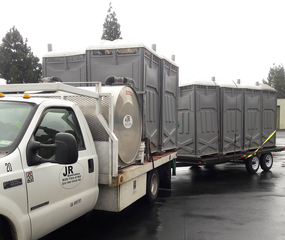 portable restroom Toilet Commercial & Civil Construction: roadway projects, office buildings Pittsburg CA