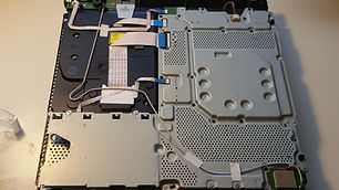 Playstation 4 repair CPU heatsink Fan th
