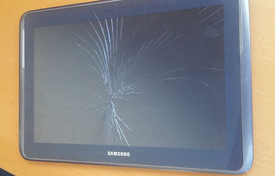 Broken screen glass repair Samsung tablet PC Android tablet