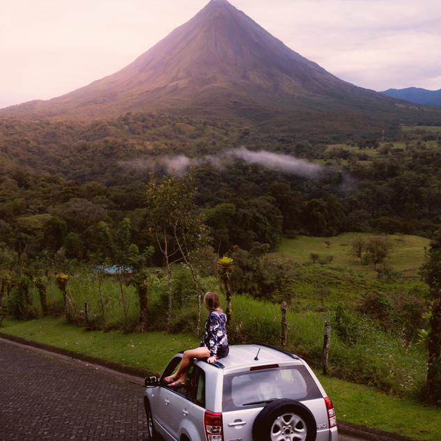 car volcano sunset PSD.png