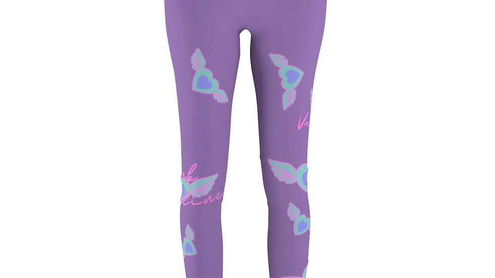 Purple Casual/Workout Pastel Dreamer Leggings