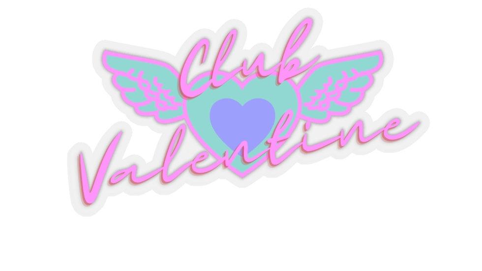 Club Valentine Stickers