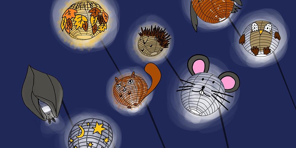 Playline og den eventyrlige lysskov          Bedsteforældre og børnebørn workshop