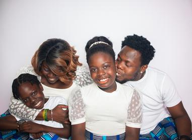 Happy family shoot