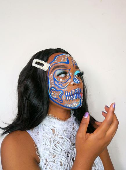 Facepaint makeup