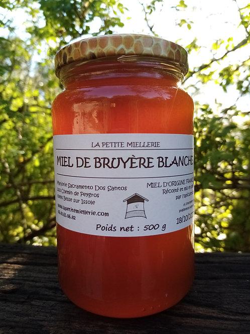 Miel de bruyère blanche 500g