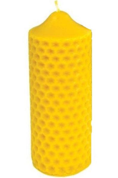 Bougie cylindre alvéolé