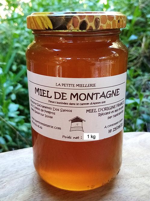 Miel de montagne 1000g