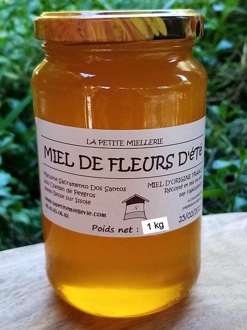 Miel de fleurs d'été 1000g