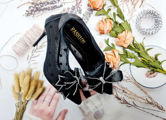 [DRMS-010] Giày cao gót chấm bi