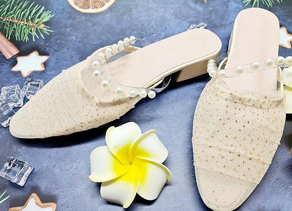 [DRMS-009] Giày ngọc trai nữ