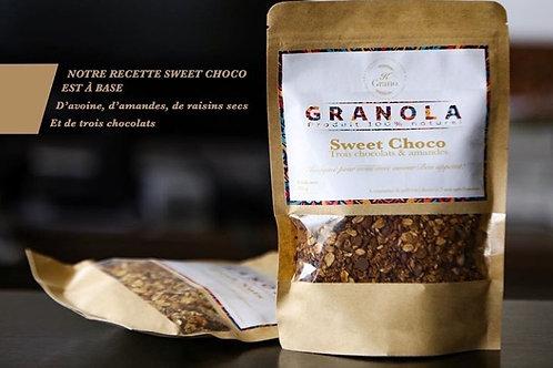 "Granola Kgrano ""sweet choco"" (format 100g)"