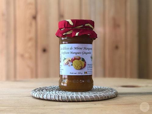 confiture mangue-gingembre Mbiné Magouné
