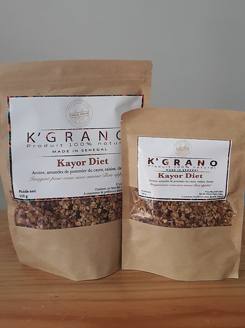 "Granola cereal house ""Kayor Diet"" (format 350g)"