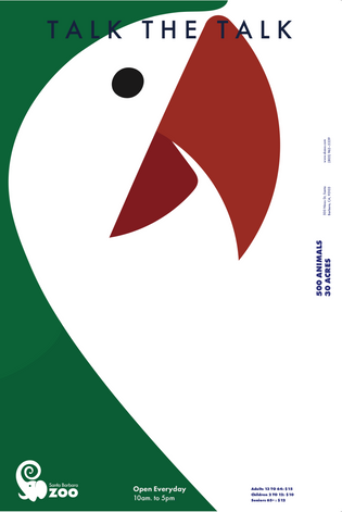 Santa Barbara Zoo Poster Series