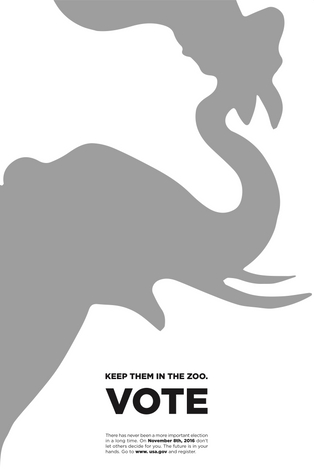 Keep them at the Zoo Poster