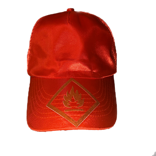 FLAMMABLE HAT