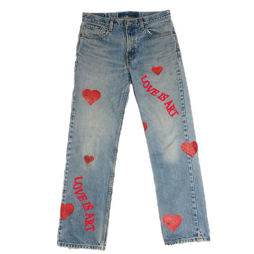 LOVE IS ART DENIM