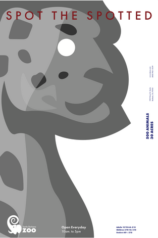 Santa Barbara Zoo Poster Series