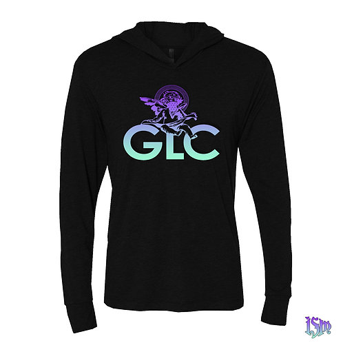 GLC ISM LIGHT BLK THIN HOODIE