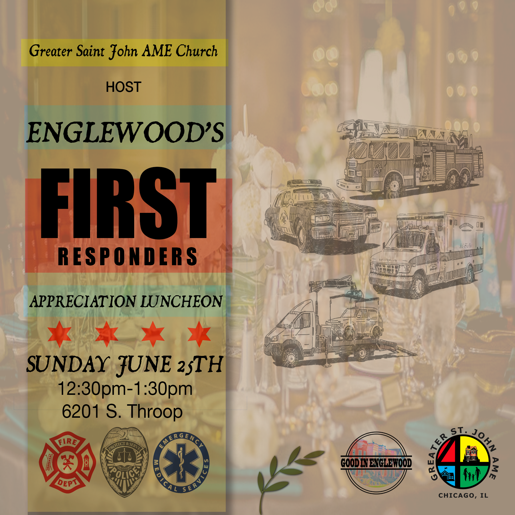 Englewood's First Responders Appreciation Luncheon