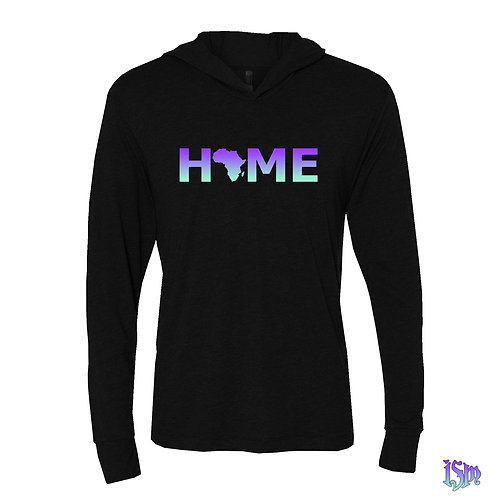 HOME ISM LIGHT TBLK THIN HOODIE