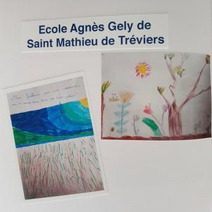 Intervention dans l'Ecole Agnes Gely