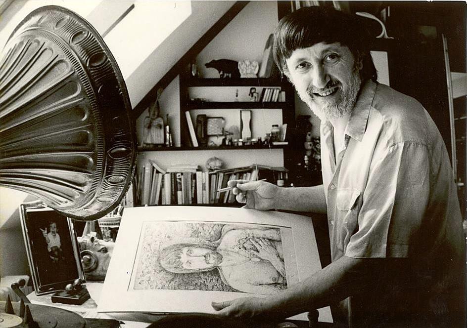Kresba autoportrétu
