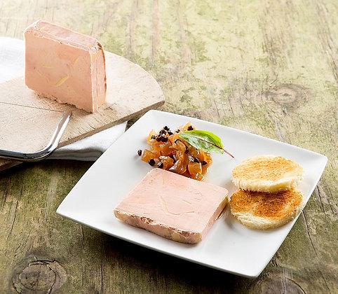 VG: Foie Gras met confituur en toast