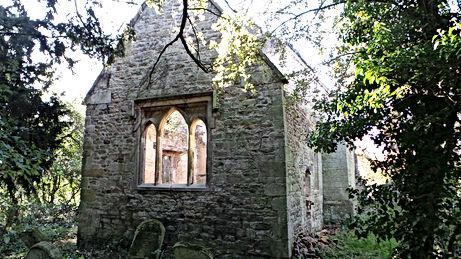 DEnton Church ruin