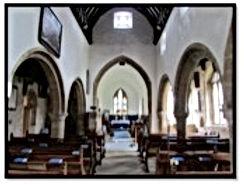Inside St Mary Magdalene Church