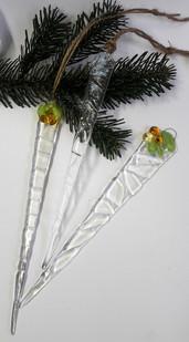 Eiszapfen Weihnachtsdeko