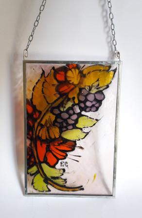 Glasmalerei Größe 12 x 18,5 cm   EUR 40,-