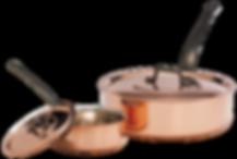 Sauteuse cuivre