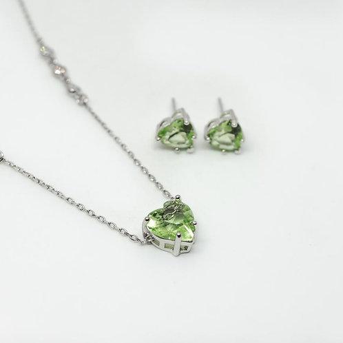 Conjunto Cristal Verde Crav