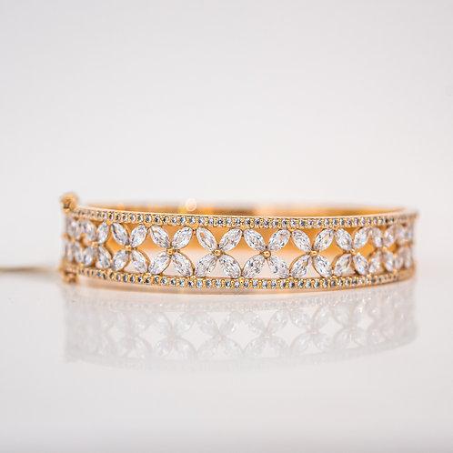 Bracelete Flores Navete