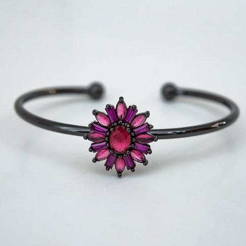 Bracelete Flor Zircônia