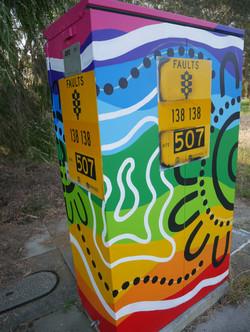 City of Vincent Pride Traffic Box